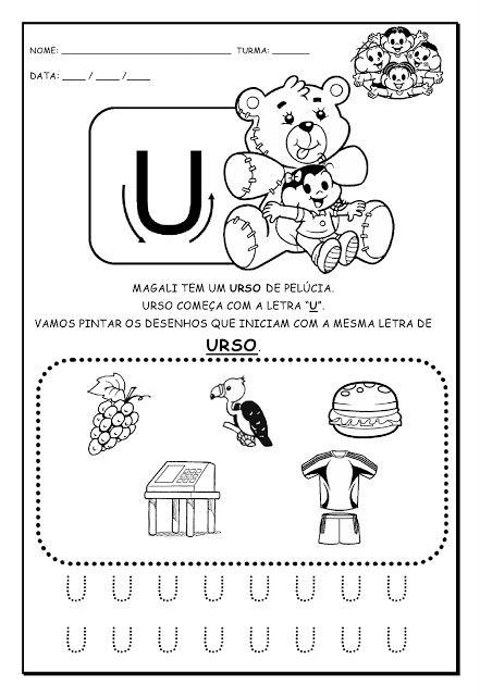 Alfabetizando Com Monica E Turma Alfabeto Com Imagens