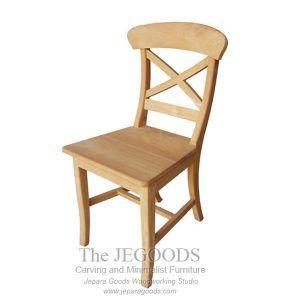 X Farmhouse Chair Kursi