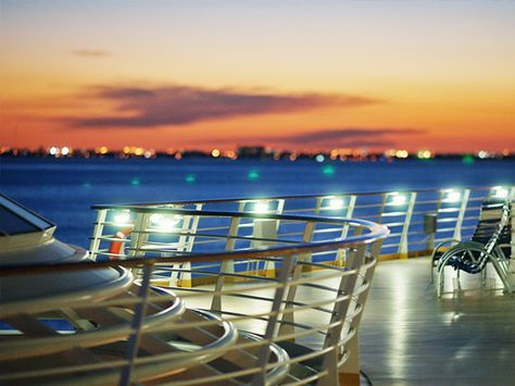 Not your ordinary sunset. #allureoftheseas #caribbean