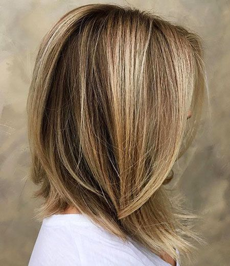 18 Medium Length Angled Bob Hairstyles With Images Long Bob