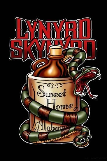 Lynyrd Skynyrd Sweet Home Alabama Posters Allposters Com Lynyrd Skynyrd Poster Rock Band Posters Lynyrd Skynyrd