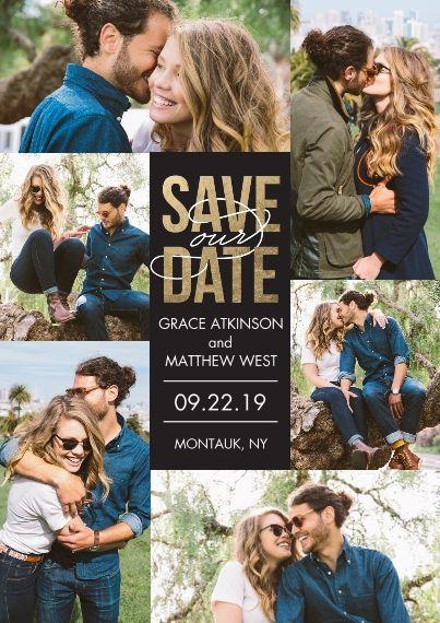Date Flat Matte Photo Paper Cards