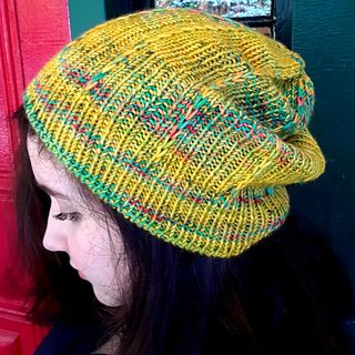 Lakes & Leaves Toque pattern by Fiona Stevenson | KNITTING HAT