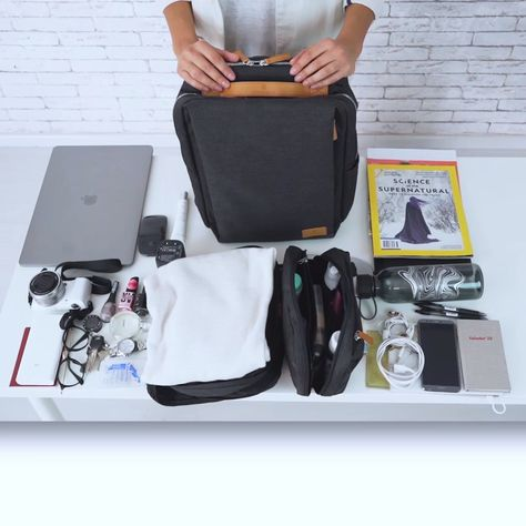 "✅ Lots of Organizing Compartment ✅ 15.6 Laptop Protection Sleeves ✅ Stylish and Functional Design ✅ Burden Reducing Ergonomic Design ""I got this backpack, and was a bit sceptical because I saw the ad on Facebook, but seriously this bag is amazing! There are so many pockets! The room is great and the bag is really light."""