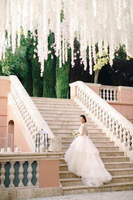 A Glamorous Pastel Wedding At Villa Padierna Palace Hotel In Spain