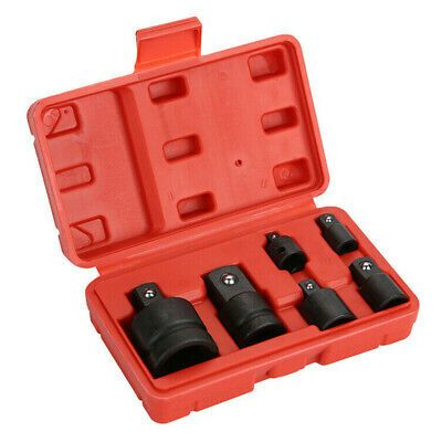 Sponsored Link 6 Pcs Socket Adapter Set Air Impact Reducer 3 4 1 2 3 8 1 4 Drive Hand Tools In 2020 Hand Tools