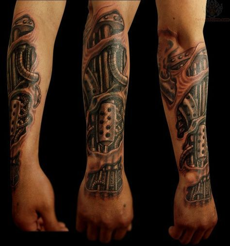 Biomechanical Feather Tattoo Bio Mechanical Tattoo For Arm Biomechanical Tattoo Biomechanical Tattoo Arm Mechanical Sleeve Tattoo