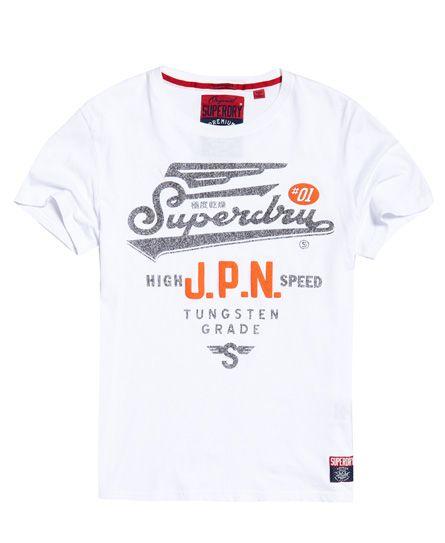 Superdry Herren Athletic T-Shirt Mit Farbblock-Design