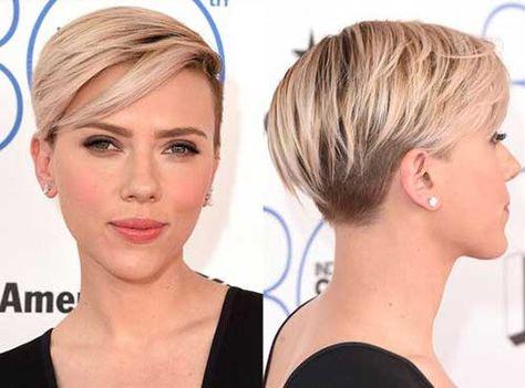 20 Popular Celebrity Short Hairstyles Modische