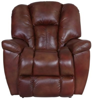 La Z Boy Maverick 100 Leather Rocker Recliner Rocker Recliners