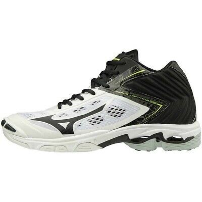 Mizuno Volleyball Shoes Wave Lightning Z5 Mid V1ga1905 White Us10 28cm Uk9 0 Volleyball Shoes Mizuno Volleyball Indoor Shoe