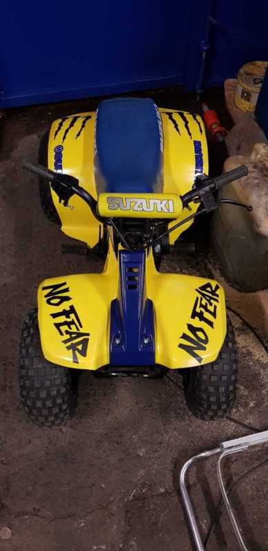 Suzuki Lt50 Quad Bike Lt 50 Off Road Scrambler Trials 99p Start Thecustommotorcycle Co Uk Suzuki Quad Bike Scrambler