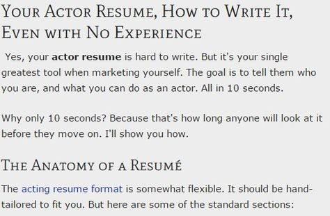 Jason Lai is an actor with MDT Talent Agency in San Francisco, CA - how to write an acting resume