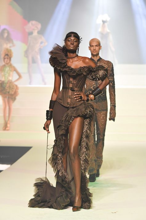 Jean Paul Gaultier's Final Runway Show Was a Fashion Spectacle