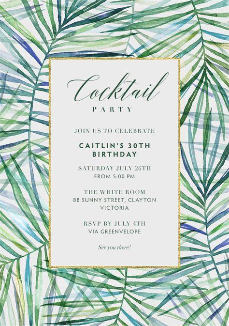 Havana Nights Party Invitations u2022 havanna cuban theme invites u2022 pink - fresh invitation for birthday party by email