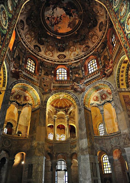 Ravenna ( Italy ) Basilica di San Vitale by tango-, via Flickr