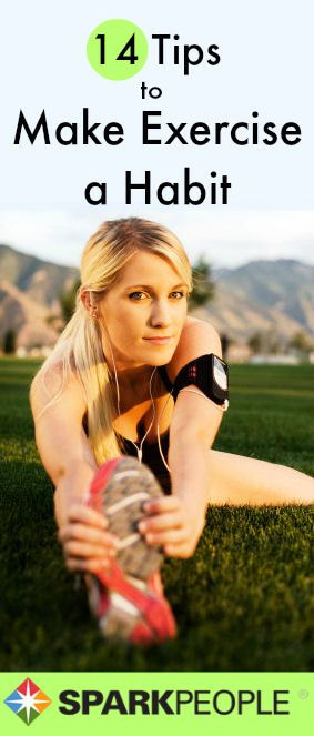 Real tips that will make a difference in how I think about exercising! | via @SparkPeople #healthyliving #fitness