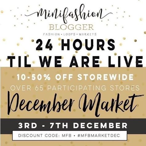 supportsmallbusiness 24 HOURS TILL WE ARE LIVE!...