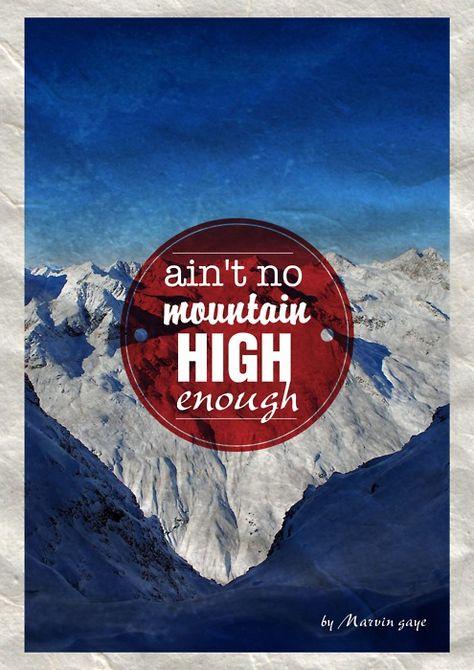 Ain T No Mountain High Enough Marvingaye Songza Love This Song