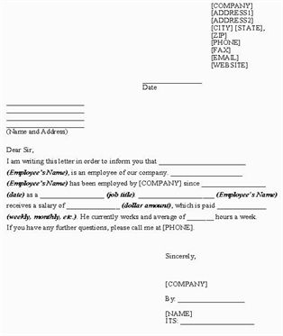 Simple Tips To Help You Get A Job Letter Of Employment Letter