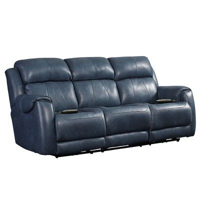 Southern Motion Safe Bet Reclining Sofa Upholstery Colour Navy