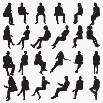 Silhouettes Sitting Bench Break Business Png And Vector With Transparent Background For Free Download Silhouette People Person Silhouette Silhouette Man