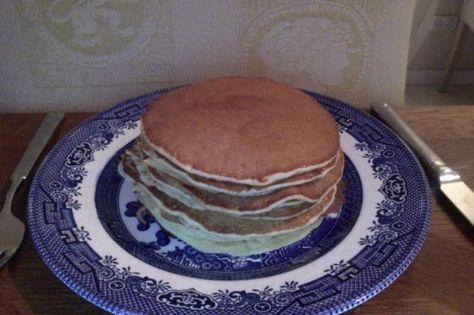 Quick Sourdough Pancakes. Photo by elysiajane