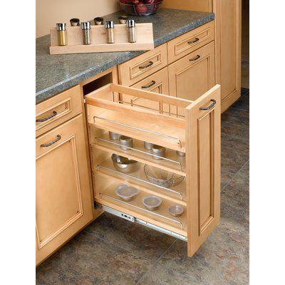 Rev A Shelf Insert Spice Rack In 2021, 8 Inch Kitchen Cabinet
