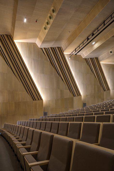 Music and dance centre soissons 2015 henri gaudin architecte
