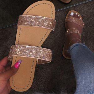 Flat Comfy Sandals | Dressy shoes, Cute