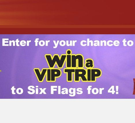 All Inclusive Trip For Four To A Six Flags Theme Park Of Your Choice Valued At 4 130 00 Four Runner Up Winne Sweepstakes All Inclusive Trips Admission Ticket