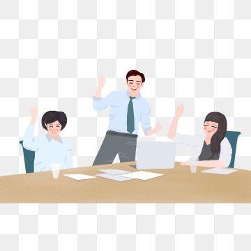 2020 的 Cartoon Office Character Illustration Cartoon