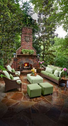 7 Kitchen Design Ideas With Images Rustic Outdoor Fireplaces Outdoor Fireplace Designs Backyard
