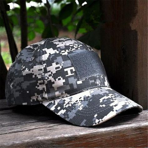 ALLKPOPER Snapback Camouflage Tactical Hat Patch Army Tactical Baseball Cap  Unisex ACU CP Desert Cobra Camo Hats For Men 5a1be6f14b35