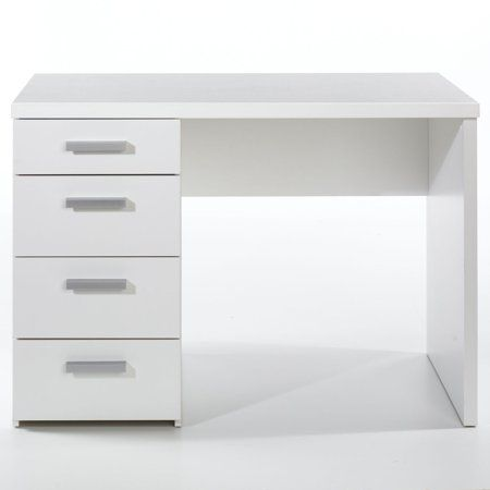 Wendell Desk Walmart Com Desk With Drawers White Desk Bedroom White Desk Office