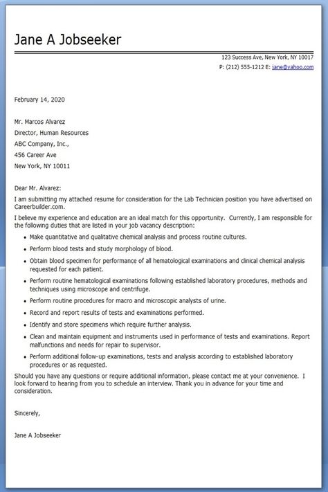 Medical Technologist Resume Example Projects to try Pinterest - medical technologist resume