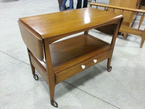 Superior Sweet VTG Mid Century Danish Modern Tea Cart W Drawer Unique Furniture  Makers | Mid Century Danish Modern Retro Eames Knoll Era | Pinterest |  Danish Modern, ...