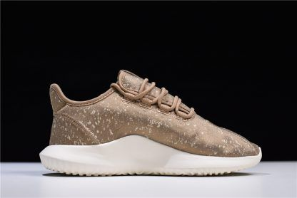 2018 Adidas Tubular Shadow Jacquard Brown Mens Shoes Aq0939 2