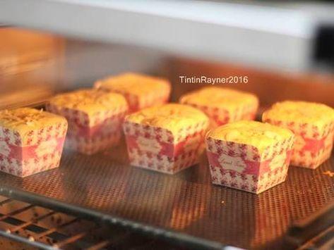 Resep Bolu Hongkong Keju Almond Harum Lembutt Oleh Tintin Rayner Resep Resep Resep Makanan Penutup Makanan Penutup Mini