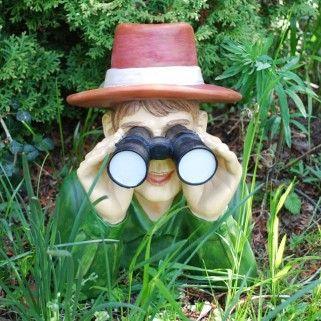Nosey Neighbour With Binoculars Garden Ornament   Garden   Pinterest   Garden  Ornaments, Gardens And Plants