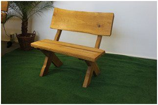 Speziell Gartenbank Holz Massiv Gunstig