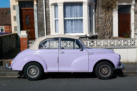 40 Amazing Good ideas For Pretty Cars, Cute Cars, Purple Aesthetic, Retro Aesthetic, Lavender Aesthetic, My Dream Car, Dream Cars, Volkswagen Convertible, Purple Walls