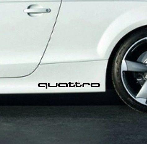 2 Audi Volkswagen logo vinyl sticker decal emblem jetta a4 a6