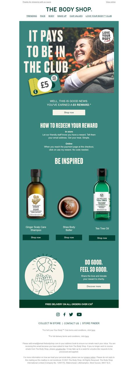 Cruelty-Free Skincare Beauty Products | The Body Shop
