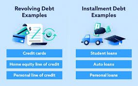 Revolving Credit Vs Installment Credit What S The Difference In 2020 Personal Line Of Credit Personal Loans Line Of Credit