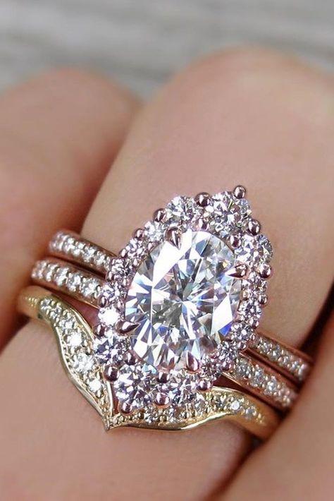 Anniversario Matrimonio Platino.27 Oval Engagement Rings That Every Girl Dreams Anelli