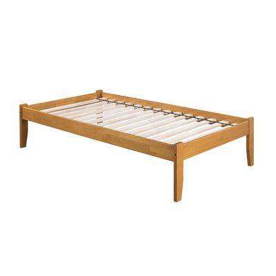 Andover Mills Mackenzie Solid Wood Platform Bed Wood Platform Bed Solid Wood Platform Bed Atlantic Furniture