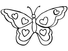 La Chachipedia Mariposas Para Colorear Para Imprimir Y Gifs Animados Mariposas Para Colorear Dibujos Para Colorear Mariposas Dibujos Faciles De Corazones