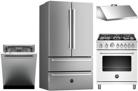 4 Piece Kitchen Appliances Package With Ref36x 36 French Door Refrigerator Mast305gasbie 30 Gas Kitchen Appliance Packages French Door Refrigerator French Doors