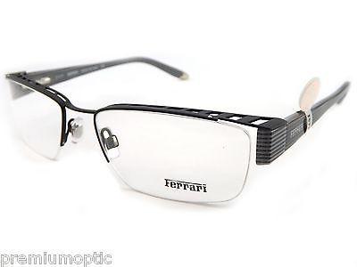 Ferrari mens reading #glasses #fr5038 0br 55 #matte black designer ...